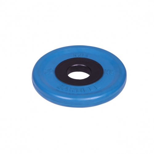 Диск олимпийский Barbell d 51 мм цветной 2,5 кг 457 - вид 1