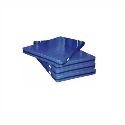 Мат гимнастический поролон плотн. 22 кг/м3 (р-р 1*2*0,10) винилискожа, на молнии ПМ2210 - вид 1