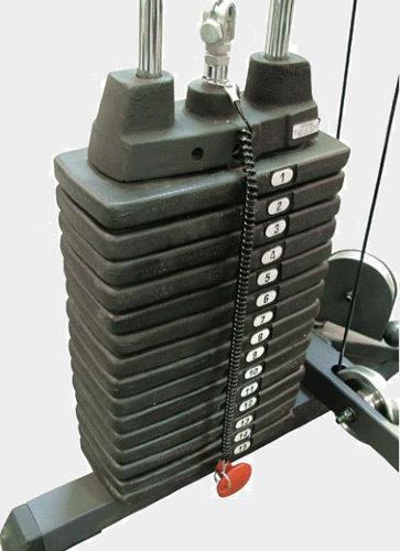 Весовой стек SP150 для PHG1000 (15 шт.*10фнт./4.53 кг.) SP150 - вид 1