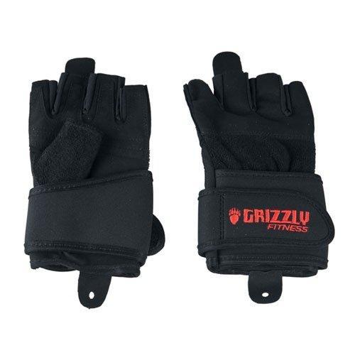 Перчатки с фиксатором запястья Grizzly Fitness Power training 8751-04 GF\8751-04\0S-MN-SD - вид 1