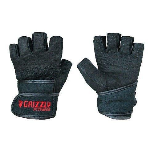 Перчатки с фиксатором запястья Grizzly Fitness Power training 8750-04 (женские) GF\8750-04\0L-WN-SD - вид 1