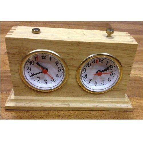 Часы механические Рубин в деревянном корпусе ЛЮКС 12049 - вид 1
