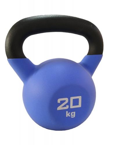 Гиря чугунная с виниловым покрытием SportElite 20 кг, матовая ES-0291 - вид 1
