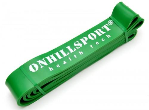 Латексная петля для фитнеса 2080 (45 мм) зеленая 19-56 кг RP-04 - вид 1
