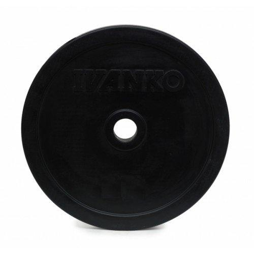 Олимпийский диск IVANKO RUBO-10KG (10 кг) 10351 - вид 1