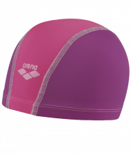 Шапочка для плавания Unix JR Plum/Fuchsia/Bubble, полиамид, 91279 26