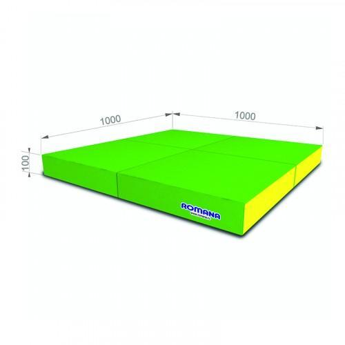 Мягкий щит pro (1000*1000*100), в 4 сложения Романа ДМФ-ЭЛК-14.96.01 - вид 1