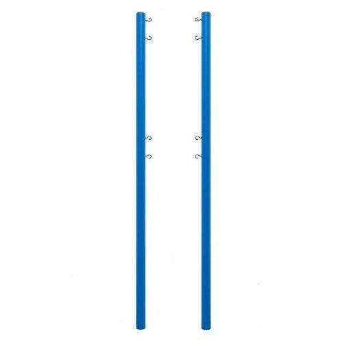 Стойка волейбольная уличная на стаканах (без механизма натяжения) М401В - вид 1
