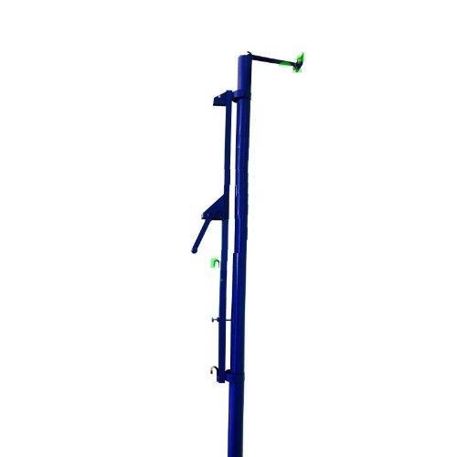Стойка волейбольная пристенная с механизмом натяжения, универсальная М50В - вид 1