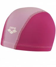 Шапочка для плавания Unix JR Fuchsia/Bubble/White, полиамид, 91279 25
