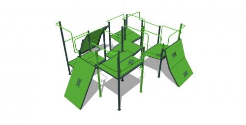 Площадка для паркура XL 33523 - вид 1