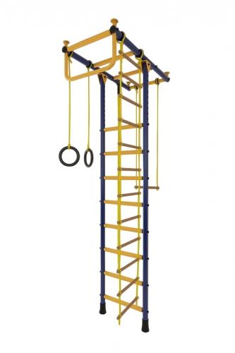 Детский спортивный комплекс Лидер Т-01 сине-жёлтый 2504 - вид 1