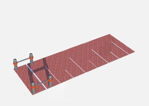 """Секция для выполнения упражнения """"Прыжок в длину с места"""" СВС-96 СВС-96 - вид 1"""