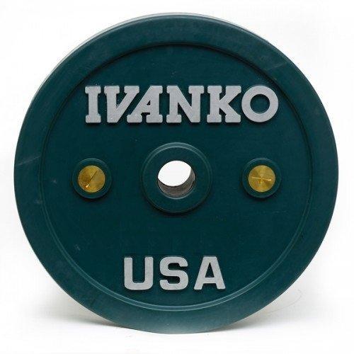 Олимпийский диск IVANKO OCB-10KG (10 кг) 10356 - вид 1