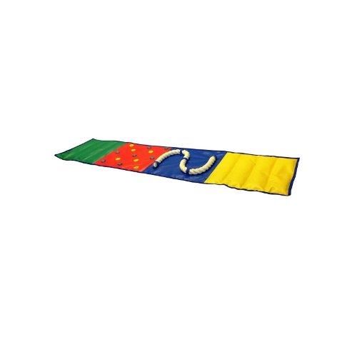 Дорожка сенсорная, 180*40 см (песок, горох, канат, пуговицы) М1174 - вид 1