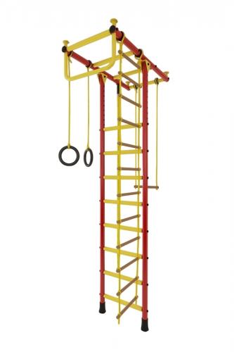 Спортивный комплекс Лидер Т-03 красно/жёлтый 2506 - вид 1