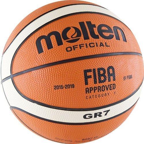 Мяч баскетбольный Molten BGR7-OI №7 FIBA 11357 - вид 1