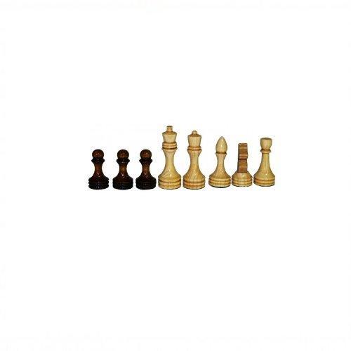 Фигуры шахматные обиходные, деревянные, лакированные 12057 - вид 1