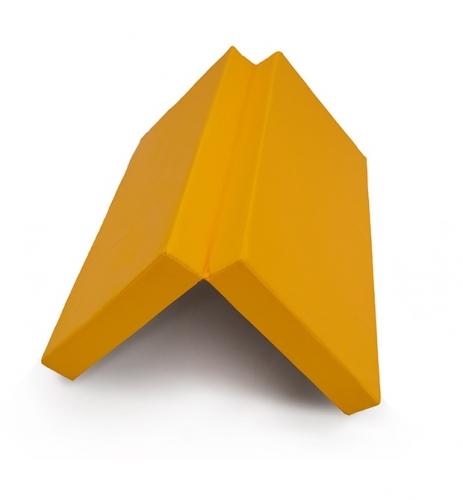 "Мат № 10 (100 х 150 х 10) складной 1 сложение ""КМС"" жёлтый SG000003545 - вид 1"