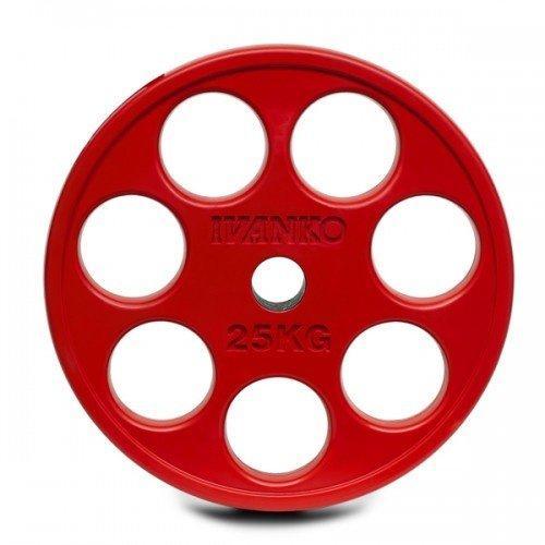 Олимпийский диск IVANKO ROEZH-25KG (25 кг) 10360 - вид 1