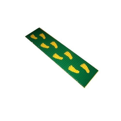 Коврик массажный со следочками 165*40 см М706Д - вид 1