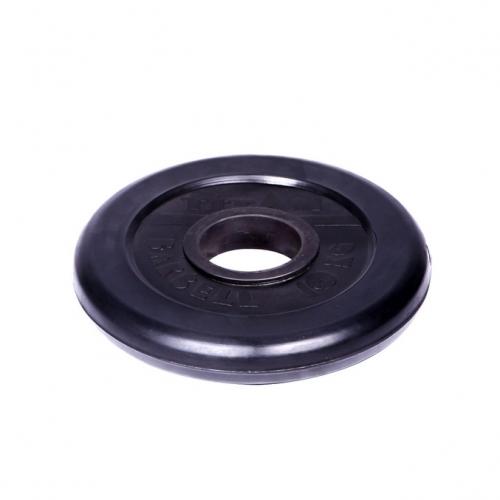 Диск обрезиненный Титан d 51 мм чёрный 10 кг 1078 - вид 1