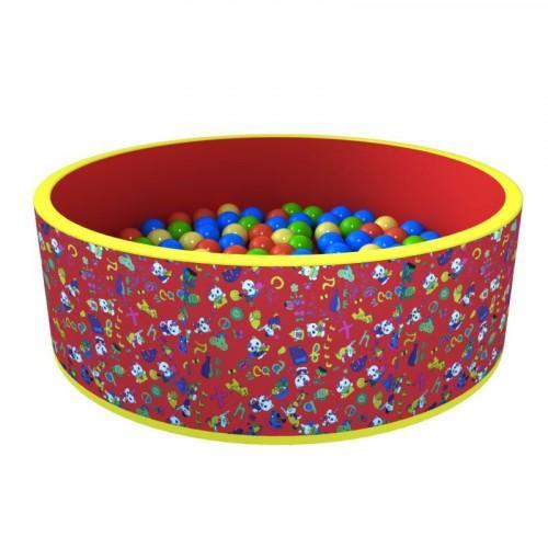 Сухой бассейн «Веселая поляна» 100 шариков ДМФ-МК-02.51.02 - вид 1