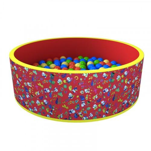 Сухой бассейн «Веселая поляна» 150 шариков  ДМФ-МК-02.51.01 - вид 1
