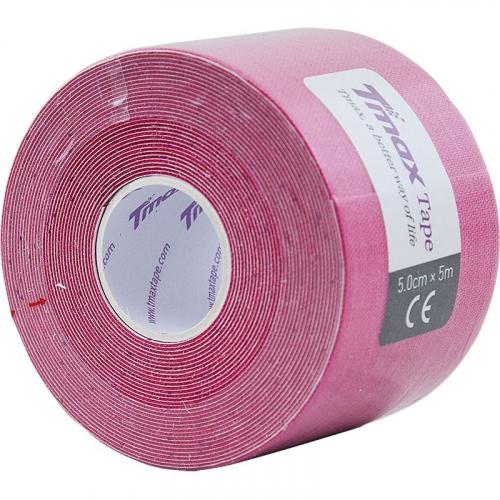 Тейп кинезиологический Tmax Extra Sticky Pink (5 см x 5 м), арт. 423136, розовый  - вид 1