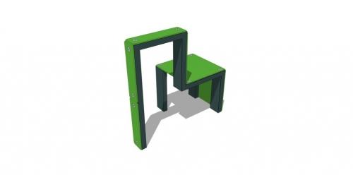 Дверь и стул 3 (элемент для паркура) 33508 - вид 1