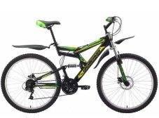 Велосипед Challenger Genesis Black/Yellow/Green 21''