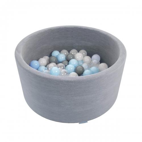 """Сухой бассейн Romana """"Easy"""" ДМФ-МК-02.53.03 серый с серыми шариками SG000005215 - вид 1"""