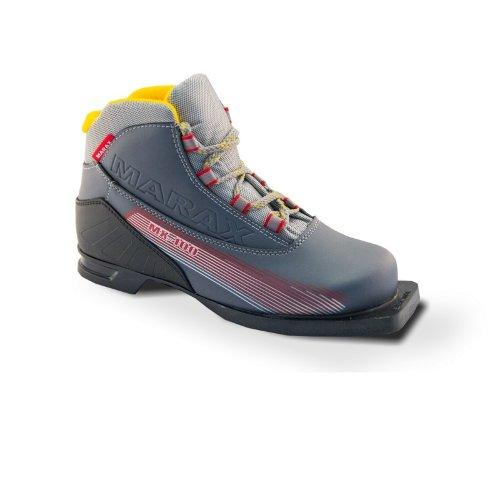 Ботинки лыжные MARAX M-100 ис/кожа 75 мм 12073 - вид 1