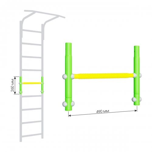 Вставка для увеличения высоты ДСКМ 490 Romana Dop9 (6.06.01) зелёное яблоко/жёлтый SG000004656 - вид 1
