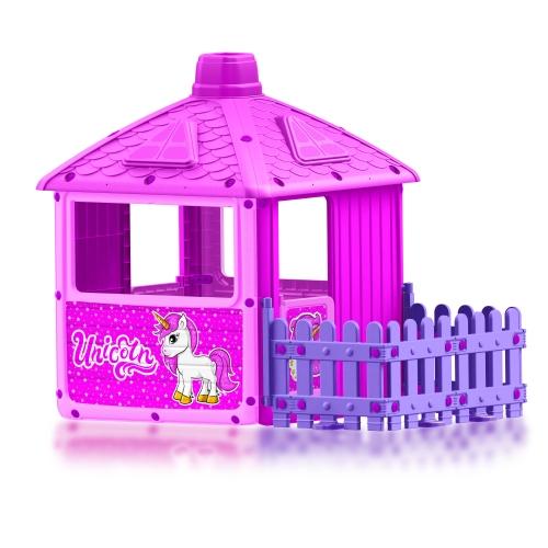 Домик с забором для девочек Dolu 2511 SG000004868 - вид 1
