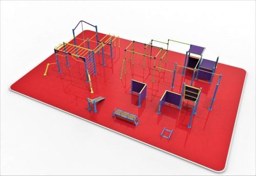 Площадка для паркура Альтернатива 32749 - вид 1