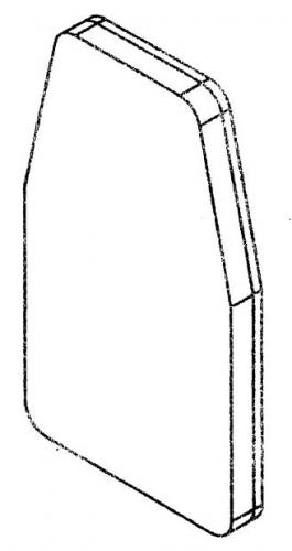 GVKR60 Подушка спинка GVKR60-PART-E - вид 1