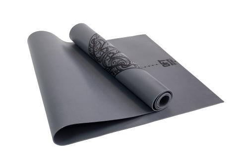 Коврик для йоги 2.5 мм серый в сумке с ремешком FT-TYM025-GY - вид 1