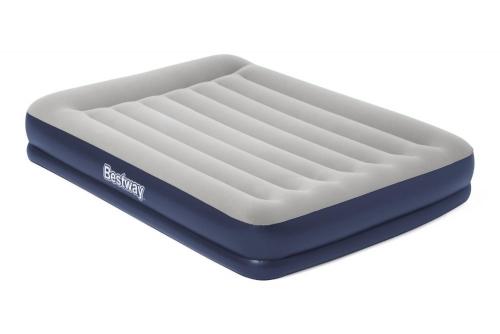 67725 Надувная кровать Tritech Airbed 203х152х36см с подголовником, встроенный электронасос 67725 - вид 1