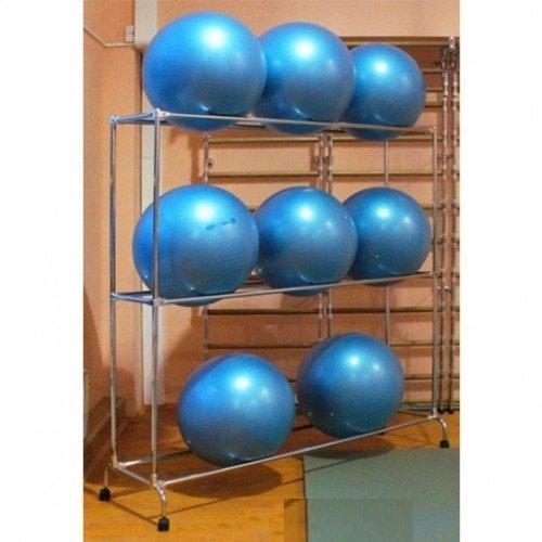 Стеллаж для гимнастических мячей AS\1038\09-CH-00, на 9 шт. 10583 - вид 1