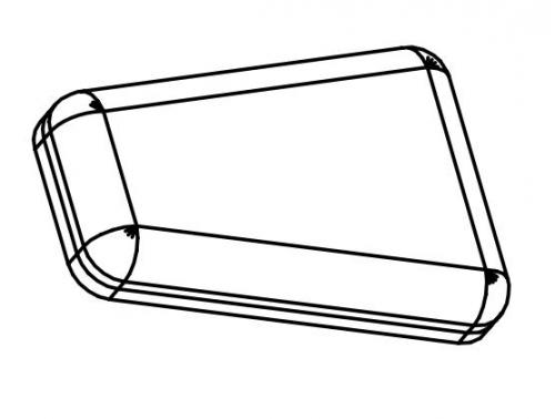 GPM65 подушка сиденье GPM65-PART-O - вид 1