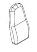 G2B Подушка под спину G2B-PART-BB - вид 1
