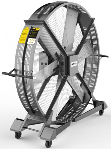 Вентилятор мобильный DHZ, для тренажерного и кроссфит зала  - вид 1