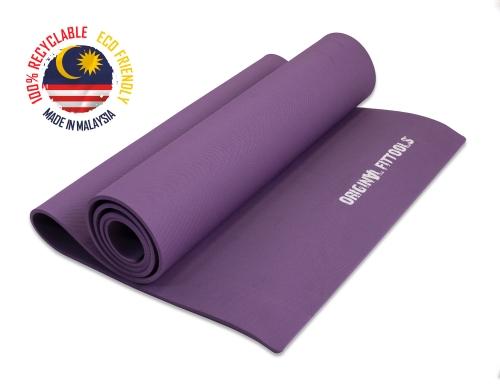 Коврик для йоги 1900х600 6 мм фиолетовый FT-YGM-6TPE (LAKSHMI) - вид 1