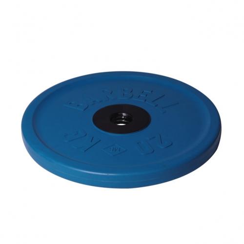 Диск олимпийский Barbell d 51 мм цветной 20 кг 458 - вид 1