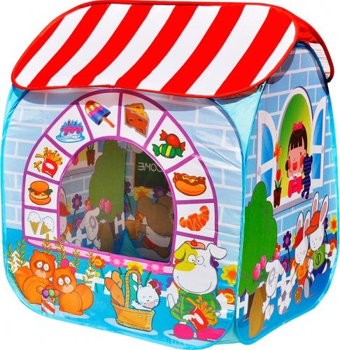 """Игровой домик """"Детский магазин"""" + 100 шариков CBH-32 синий SG000004478 - вид 1"""
