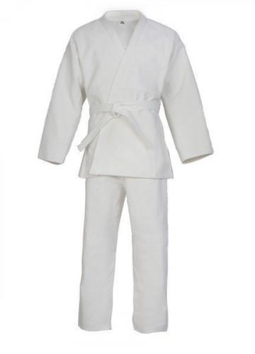 Кимоно для карате 38 размер ( белый цвет, 240 г) 140 см KI-0738-1 - вид 1