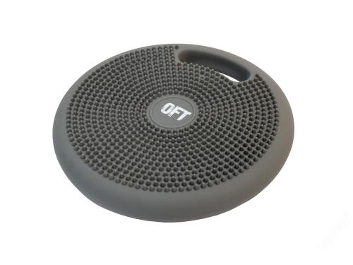 Массажно-балансировочная подушка с ручкой серая FT-BPDHL (GREY) - вид 1