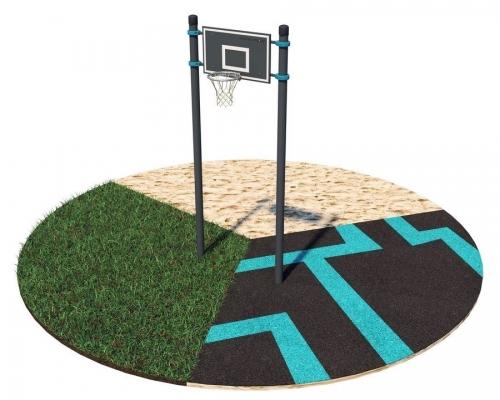 Баскетбольная стойка (любительская) S-006/1 - вид 1