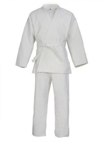 Кимоно для карате 40 размер (белый цвет, 240 г) 146 см KI-0740-1 - вид 1